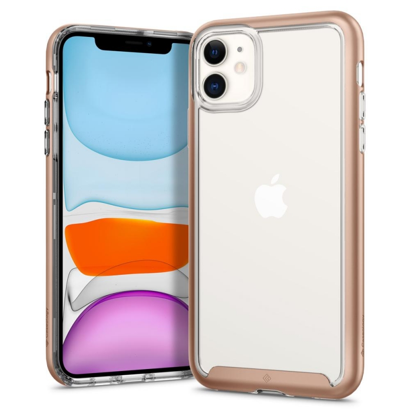 iPhone 11 Case Caseology Skyfall Case Rose Gold