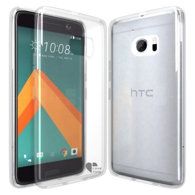 HTC 10 Silicon Case Clear