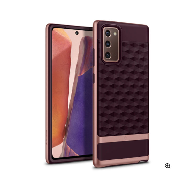 Samsung Galaxy Note 20 Parallax Burgundy Case | Caseology