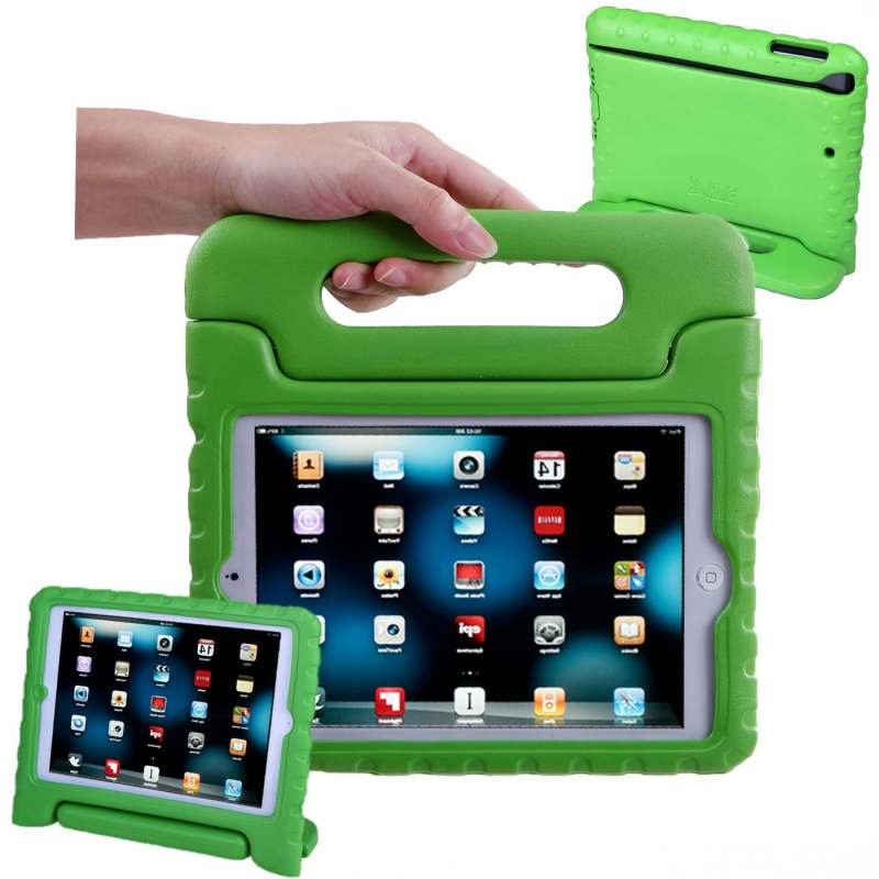 iPad 10.2 Inch 2019 Case for kids Shockproof Cover with Handle |Green