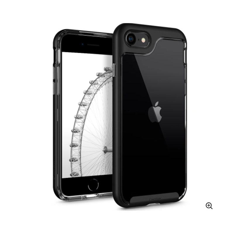 iPhone SE (2nd Gen) and iPhone 7/ 8 Case Caseology Skyfall Series- Matte Black