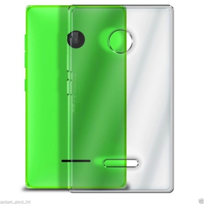 Nokia Lumia 435 Silicon Case Clear