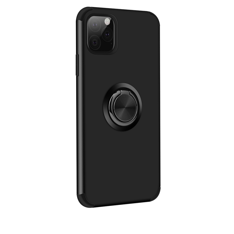 iPhone 11 Magnetic Ring Holder Cover BLACK