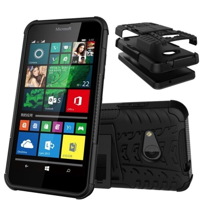 Nokia Lumia 550 Tyre Defender Black