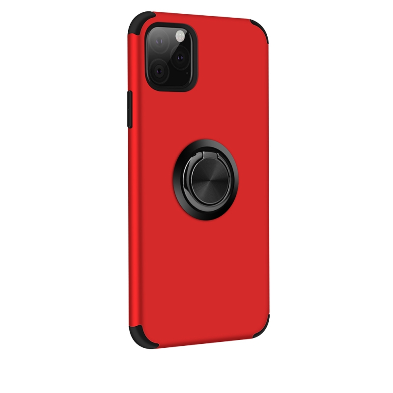 iPhone 11 Magnetic Ring Holder Cover Red