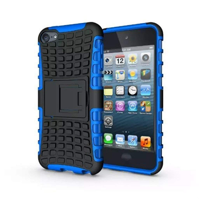 iPod Touch (5th/6th Generation)  Hybrid Protector Stand Cover Black/Blue