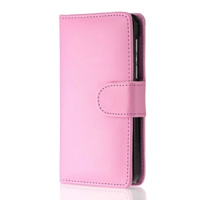 Nokia Lumia 630 PU Leather Wallet Case BabyPink