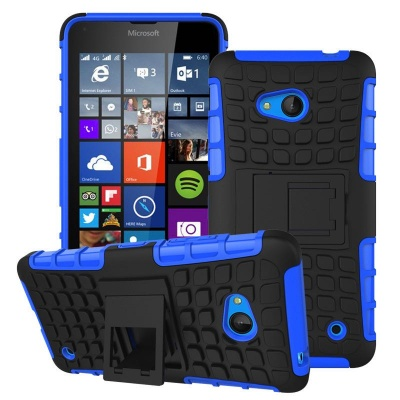 Nokia Lumia 640 Tyre Defender Blue