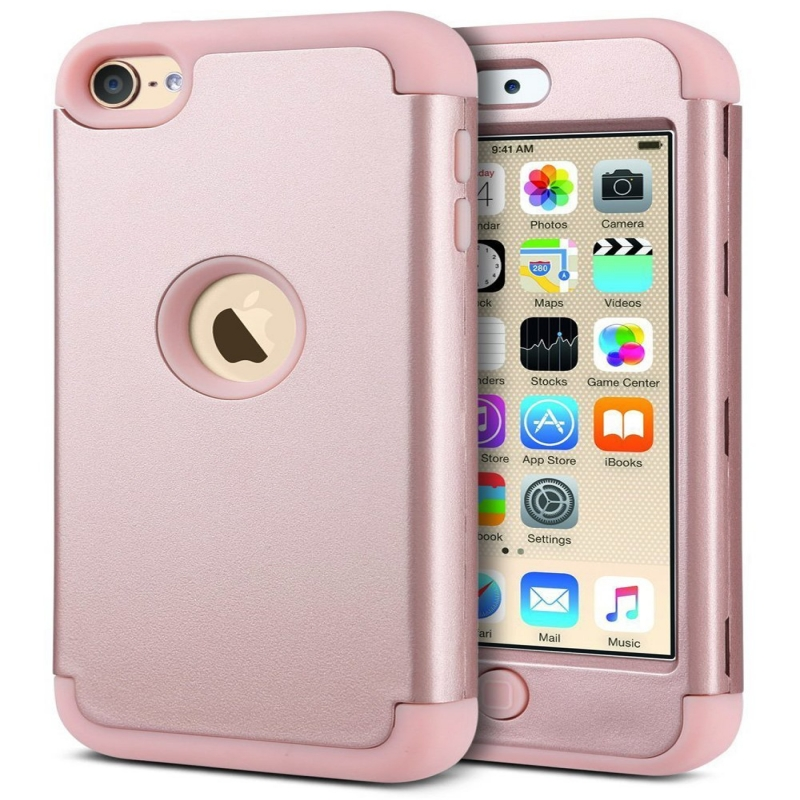 iPod Touch (5th/6th Generation)  Hybrid Protector Cover Rosegold