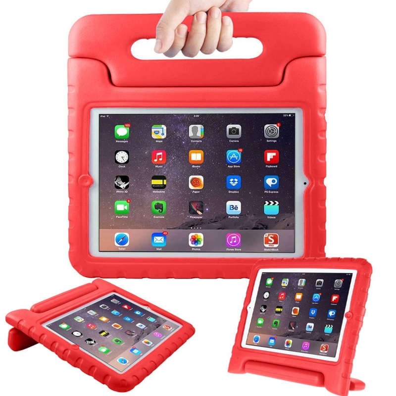 Samsung Galaxy Tab A 7 Inch T280 / T285 Kids Shockproof Cover with Handle |Red