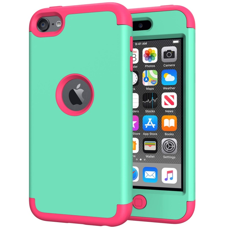 iPod Touch (5th/6th Generation)  Hybrid Protector Cover Mink/Pink