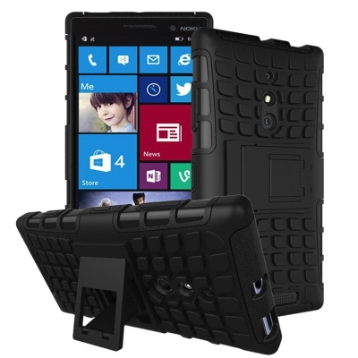 Nokia Lumia 830 Tyre Defender Black