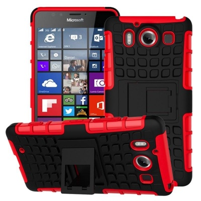 Nokia Lumia 950 Tyre Defender Red