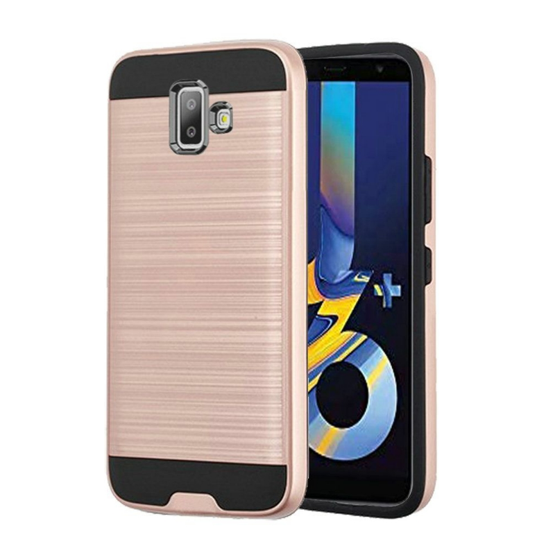 Samsung Galaxy A5(2017)  Shockproof Dual Layered Back Case Rosegold