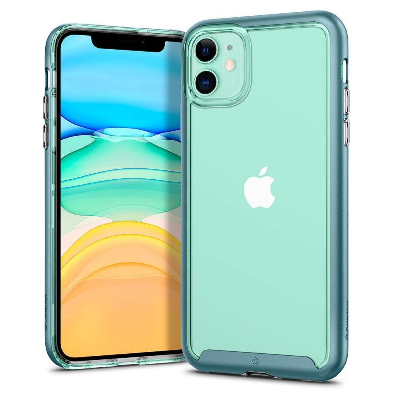 iPhone 11 Case Caseology Skyfall Case Aqua Green