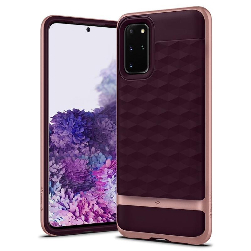 Samsung Galaxy S20 Plus Caseology Parallax Cover Burgundy