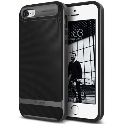 iPhone SE/5S/5 Caseology Wavelength Black