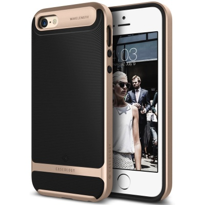 iPhone SE/5S/5 Caseology Wavelength BlackGold