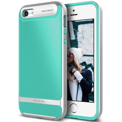 iPhone SE/5S/5 Caseology Wavelength Mint