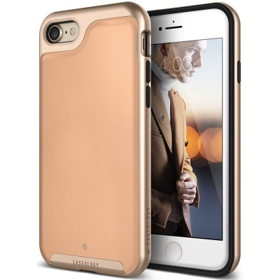 iPhone 7 / iPhone 8 Case  Caseology Envoy- Leather Beige