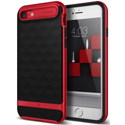 iPhone 7 / iPhone 8 Case Caseology Parallax Series- Red
