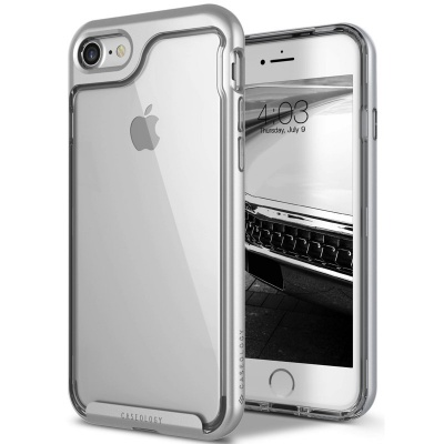 iPhone 7 / iPhone 8 Case Caseology Skyfall Series- Silver
