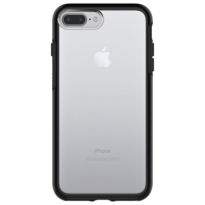 iPhone 7/8 Plus OtterBox Symmetry Clear Series  Case Black