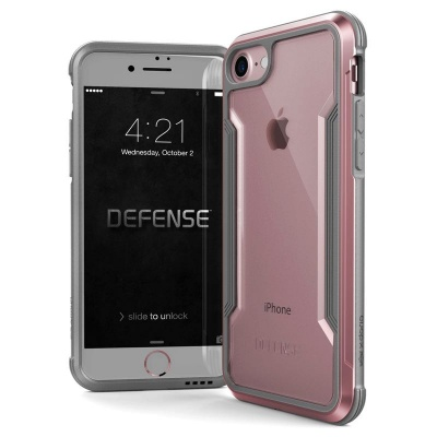 iPhone 7 / iPhone 8 Case X-Doria Defence Shield- RoseGold
