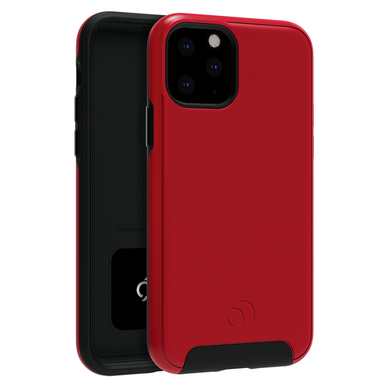 iPhone 11 Pro / Xs Nimbus Cirrus2 case Crimson