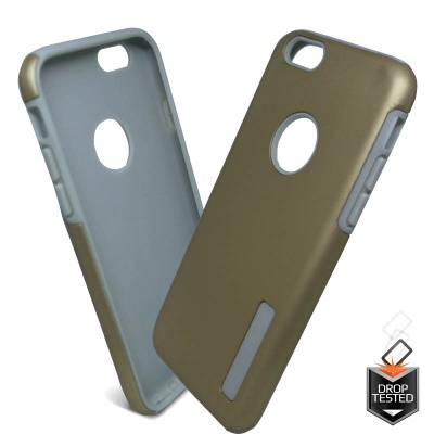 iPhone 6/6s  Dual Layered Protection Case Gold