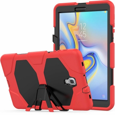 Samsung Galaxy Tab A Case 10.5 (SM-T590) Shockproof Cover With Kickstand | Red
