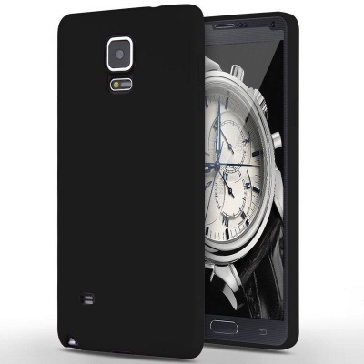 Samsung Galaxy Note 4  Silicon Black Case