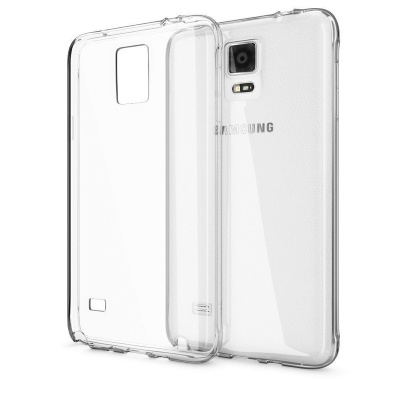 Samsung Galaxy Note 4  Silicon Clear Case