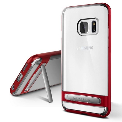 Samsung Galaxy S7 Edge Goospery Dream Bumper Case Red