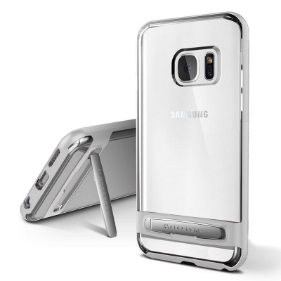 Samsung Galaxy S7 Edge Goospery Dream Bumper Case Silver