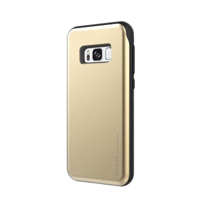 Samsung Galaxy S8 Plus Sky Slide Bumper Case Gold