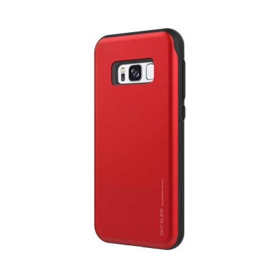 Samsung Galaxy S8 Plus Sky Slide Bumper Case Red