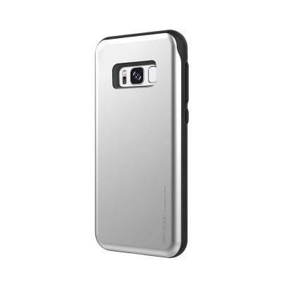 Samsung Galaxy S8 Plus Sky Slide Bumper Case Silver