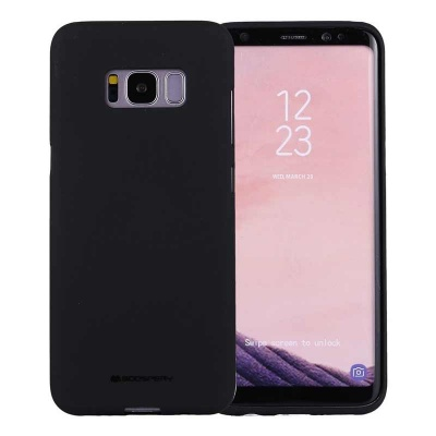 Samsung Galaxy S8 Soft Feeling Case  Black