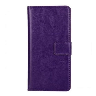 Samsung Galaxy Xcover 4 PU Leather Wallet Case Purple