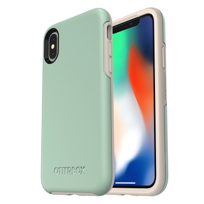 iPhone X Case OtterBox Symmetry Series  Case LightBlue