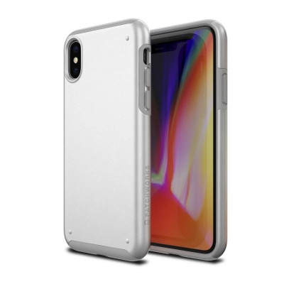 iPhone X Case Patchwork Chroma Series Case White