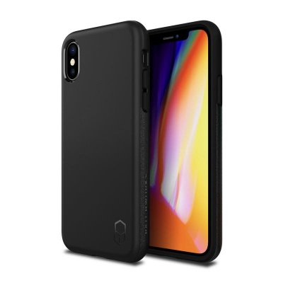 iPhone X Case  Patchwork Level ITG Series Case Black
