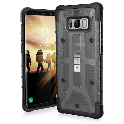 Samsung Galaxy S8 Plus UAG Plasma  Series Case Ash Black