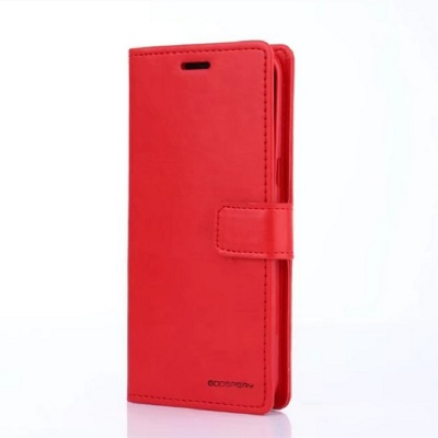 Samsung Galaxy S9 Goospery Bluemoon Diary Case Red