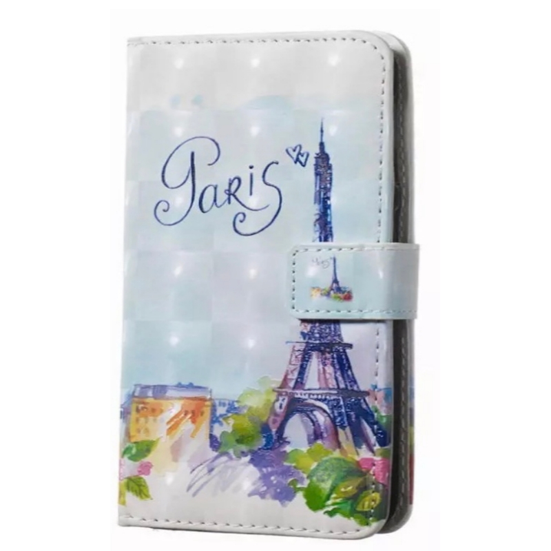 Huawei P smart 2019 Wallet Case - Love Paris
