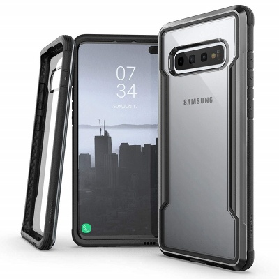Samsung Galaxy S10 Plus Case X-Doria Defense Shield Series- Black