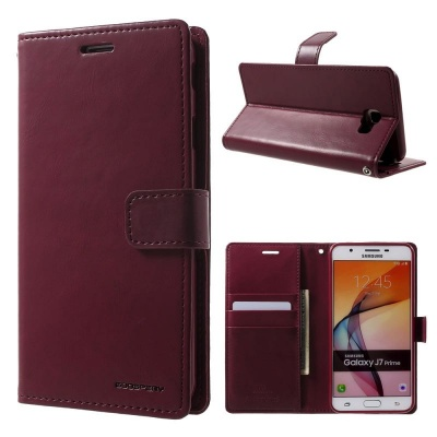 Samsung Galaxy A5(2017) Bluemoon Wallet Case Wine