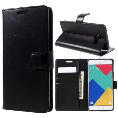 Samsung Galaxy A3(2016) Bluemoon Wallet Case Black