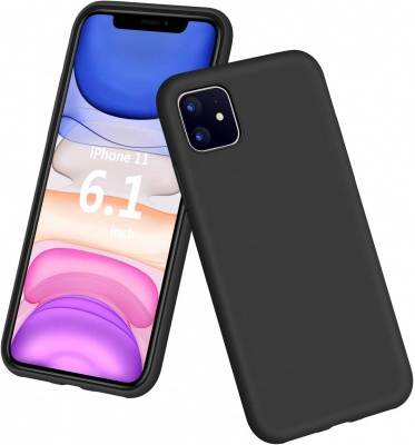 Iphone 11 Silicon Black Case
